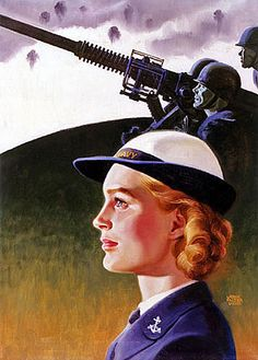 Classic World WarII poster art.