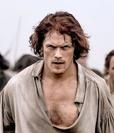 Sam Heughan as Jamie Fraser in Outlander Season 3 |  'Battle of Culloden'
