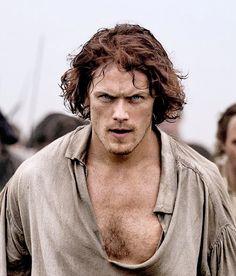 Sam Heughan as Jamie Fraser in Outlander Season 3    'Battle of Culloden'