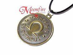 Moonfire necklace