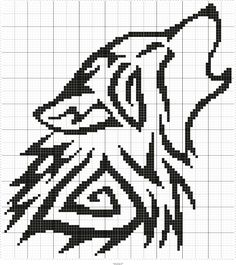 Stitch Fiddle is an online crochet, knitting and cross stitch pattern maker. Crochet Wolf, Bobble Crochet, Afghan Crochet Patterns, Thread Crochet, Knitting Patterns, Knitting Ideas, Cross Stitch Pattern Maker, Counted Cross Stitch Patterns, Cross Stitch Designs