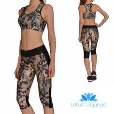 GREEN CAMO ATHLETIC SET – Lotus Leggings
