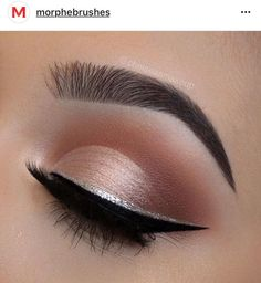 Eye shadow makeup tips. Wan na locate make-up for blue eyes that is the most complementary and appropriate for any event See our collection of the most beautiful makeup looks. CLICK Visit link for more info -- Eye makeup tricks Makeup Tricks, Eye Makeup Tips, Makeup Goals, Skin Makeup, Eyeshadow Makeup, Makeup Ideas, Makeup Tutorials, Prom Eye Makeup, Halo Eye Makeup