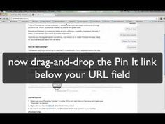Installing Pin It button: Chrome