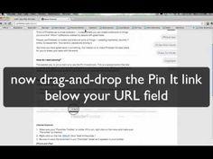 Installing Pin It button: Chrome