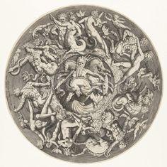 The kingdom of Neptune, Jacob de Gheyn Jacob II, Hendrick Goltzius, 1587.