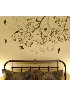 Removable Surface Art Best Sellers Tree Branch With Songbirds 1800x1800mm
