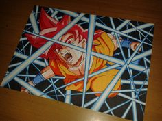 Goku Super Sayan God.