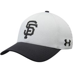 e39cc200c57 Men s San Francisco Giants Under Armour Gray MLB Driver Cap 2.0 Adjustable  Hat