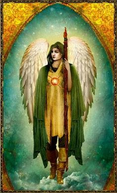 """ARCANGELO RAFFAELE Il suo nome significa """"Divino Guaritore"""", o """"Dio Guarisce"""". È l'Arcangelo che dai tempi più antichi ha in custodia la f..."""