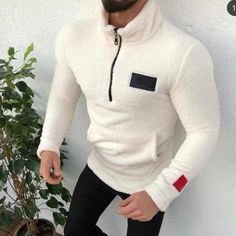 Men's Sweater Turtleneck Zipper Pure-Colour Sanitary Clothes Fleece Pullover Blouse S-2XL Plus Size Autumn Winter pull homme  Price: 17.34 & FREE Shipping  #fashion|#health|#beauty|#fitness Fleece Sweater, Men Sweater, Luxury Mens Clothing, Women's Clothing, Turtle Neck Men, Mens Sweatshirts, Lana, Pullover, Pure Products
