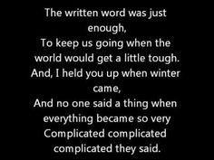 The Way We Were Lyrics - Carrie Hope Fletcher