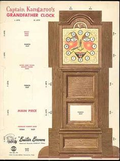 Grandfather clock from Captain Kangaroo