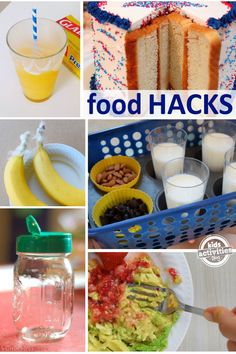 Serve a meal in a muffin tin ~ use silicone muffin cups. Make your own frozen yogurt pop with this kid food tip by putting Popsicle sticks into the tops of your yogurt cups and freezing for a healthy mid-afternoon snack.