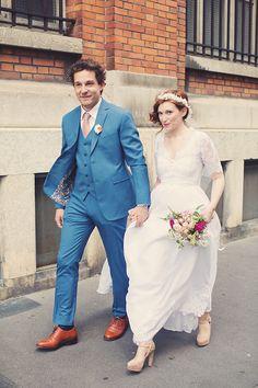 Notre mariage | Mariages Cools Mariage | Queen For A Day - Blog mariage - Robe de Mariée Violette Tannenbaum