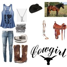 I'm not a cowgirl and don't wish to be one but I really like this outfit!