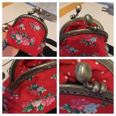 image1 Sewing Projects, Projects To Try, Creation Couture, Couture Sewing, Pouch, Wallet, Retro, Coin Purse, Miniatures