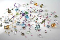 Gemas preciosas que você encontra aqui em nossa loja para fazer a sua joia!