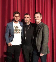 Jeremy Irvine en la Premiere de #ThisBeautifulFantastic durante o #EdinburghFilmFestival