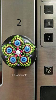 Image of Mandala Stone Fridge magnet