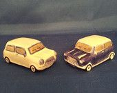 Vintage salt and pepper shakers beach cars