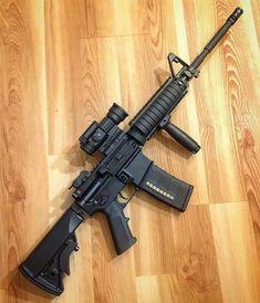 Military Weapons, Weapons Guns, Guns And Ammo, Tactical Rifles, Firearms, Armas Ninja, Battle Rifle, Gun Art, Cool Guns