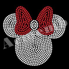 Minnie Mouse iron on BLING rhinestone transfer for Disney t-shirt WHOLESALE created with high quality rhinestones. Rhinestone Shirts, Rhinestone Transfers, Cute Cartoon Characters, 50th Birthday Party, Mickey Mouse, Custom Design, Bling, Iron, Disney