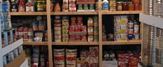 Food Storage--$300 to feed a family of four for a year. Add a bit for variety or extra flavor, but a great starting point.