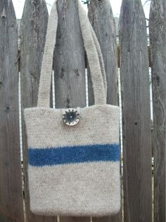 Felted Wool Purse/Bag - pinned by pin4etsy.com