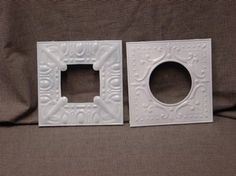 Pressed Tin Picture Frames