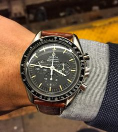 Vintage OMEGA Speedmaster Pro Calibre 861 Moonwatch In Stainless Steel - https://omegaforums.net