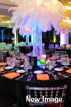 Neon Club Themed Bat Mitzvah Event Decor Party Perfect, Boca Raton, FL 1(561)994-8833