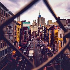 Photo. Photography. New York. The City. Outside. Earth. Skyline. Spotted via @gmy_vintique's photo on Instagram
