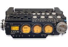 The Aaton Cantar field audio recorder.