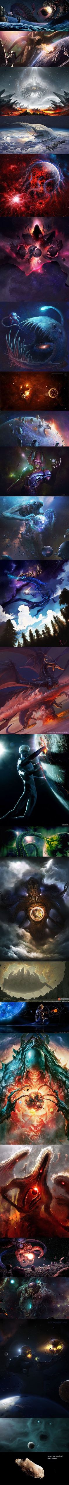 Do you guys think creatures like these could be possible somewhere out there in the universe?