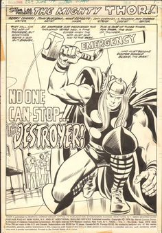 The Mighty Thor by John Buscema and Mike Esposito.