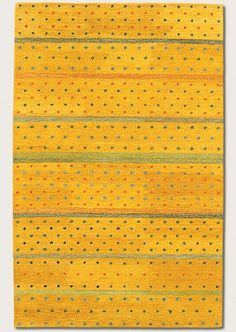 Couristan Oasis 664 Yellow Rug | Contemporary Rugs #RugsUSA