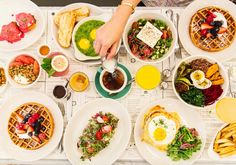 A lively all-day NYC bistro executing American-Mediterranean cooking & classic cocktails in understated digs, with locations in Soho and the West Village.