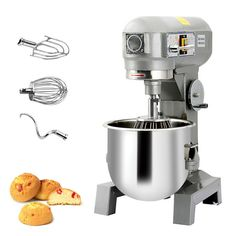 Three Speed  15Qt Commercial Dough Food Mixer Gear Driven Pizza Bakery 580W NEW · $580.00 Pizza Dough Mixer, Gear Drive, Stainless Steel Bowl, Industrial, Stand Mixer, Machine Design, Kitchen Aid Mixer, Espresso Machine, Coffee Maker