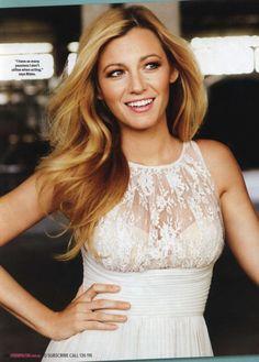 Blake Lively Love the neckline on this dress :)