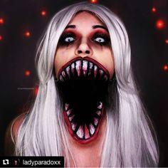 Halloween Look, Cute Halloween Makeup, Halloween Costumes, Sfx Makeup, Cosplay Makeup, Fantasy Makeup, Creative Makeup, Scary, Creepy