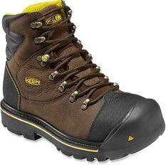 KEEN Men's Milwaukee Boots Slate Black 8