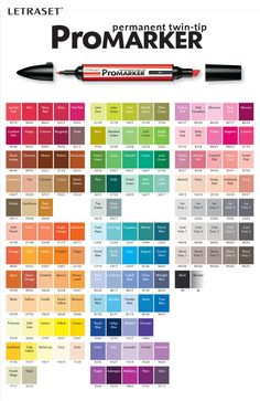 letraset promarker combo pack - 24 pens and wallet - Google Search