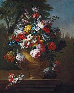 GASPARE LOPEZ  (GASPARO DEI FIORI .Napoli 1650c.- Firenze 1740)