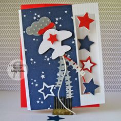 Here We Go by Kathy Martin for #Reverse Confetti using the Here We Go and Oh My Stars Confetti Cuts.