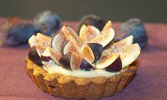 Fresh Fig and Pumpkin Cream Tart - New Vegan Table