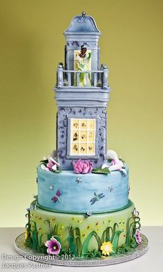 Disney Princess and the Frog Cake