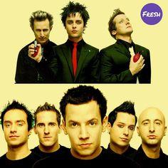 Entre estos grupos... Cuál es el mejor?  a) Green Day  b) Simple Plan  #FreshBattleMusic #Music #Bands #FreshRevista #GreenDay
