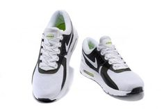 huge discount 79a84 4ef82 Nike Air Max Zero 0 QS Black White Flu Green Men Sneakers Shoes 789695-006