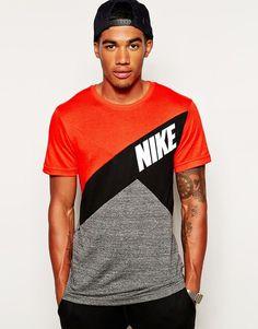 Nike   Nike Colourblock T-Shirt at ASOS